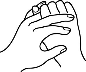 Ringfinger Einstellungen Trauer